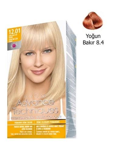 Avon AT Kalıcı Krem Saç Boyası Yoğun Bakır 84 Bakır